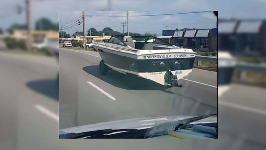 Boat On Wheels Spotted Casually Cruising Tennessee Streets