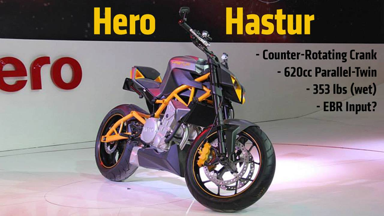 Hero Hastur Concept: Middleweight Streetfighter From India