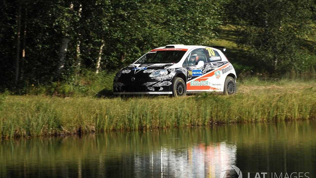 Kimi Raikkonen, en el WRC