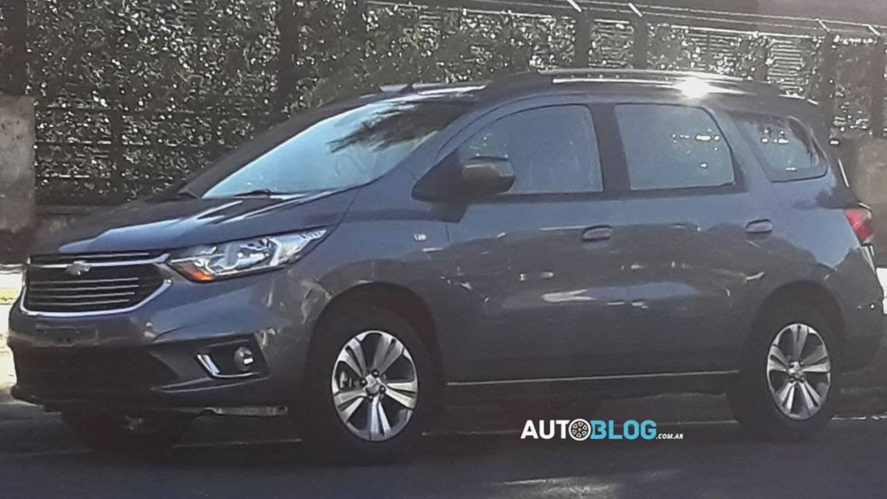 Flagra - Chevrolet Spin Argentina