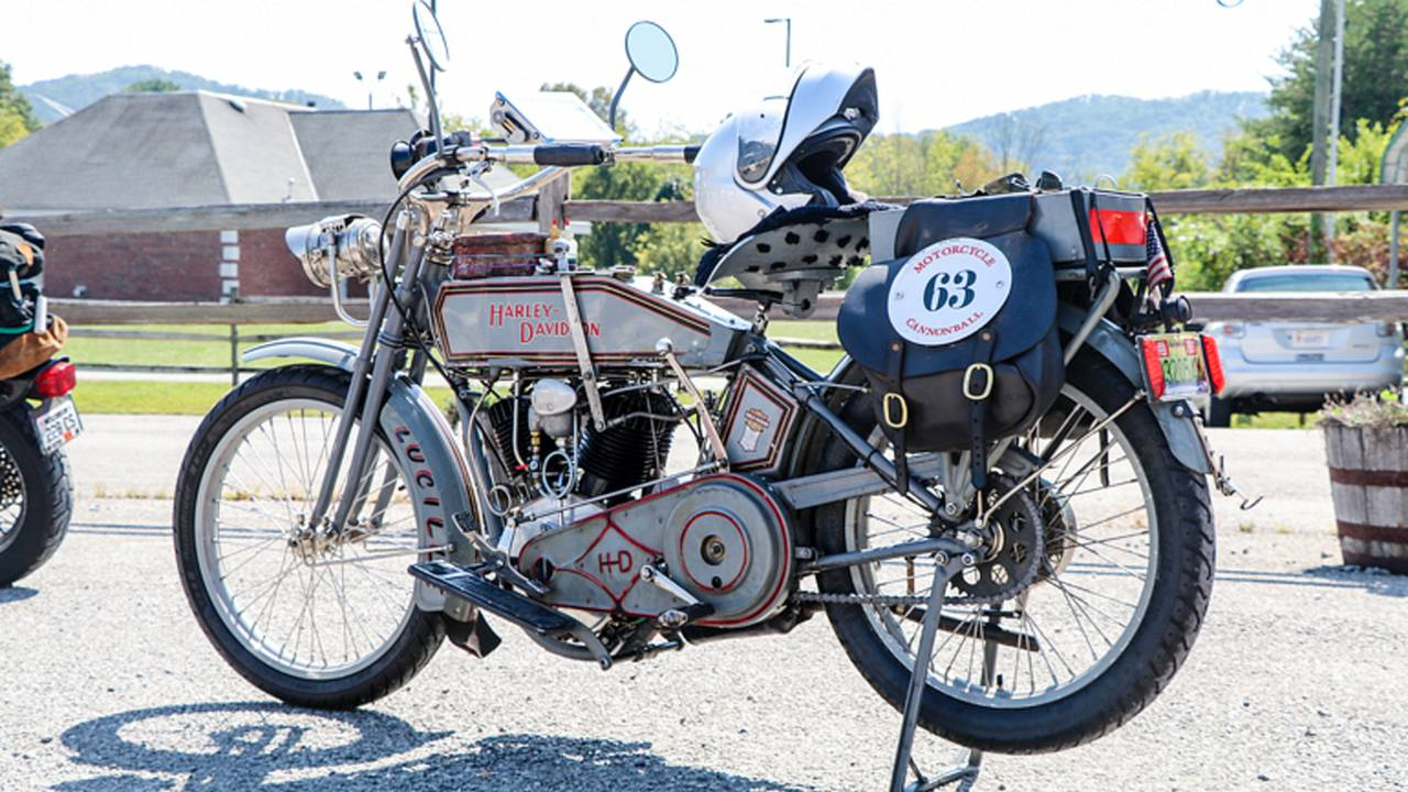 <em>The great thing about AMCA Road Runs is you get to see some really rare motorcycles actually being ridden.</em>