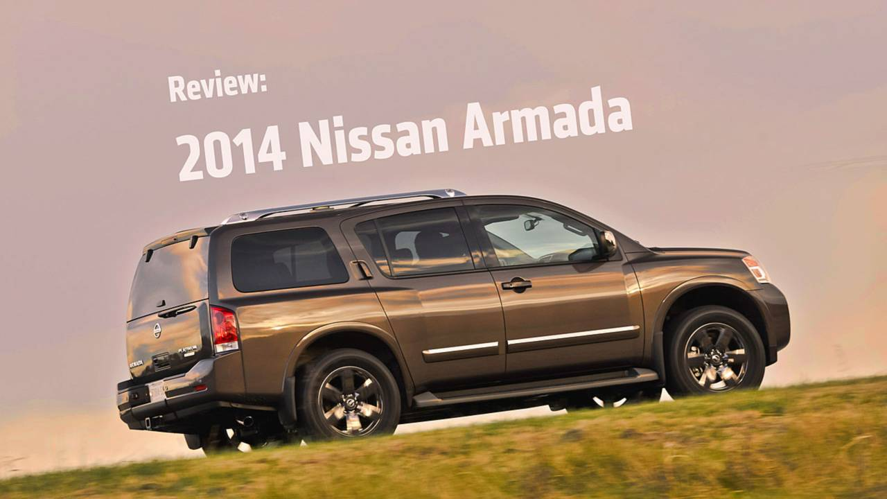 Review: 2014 Nissan Armada