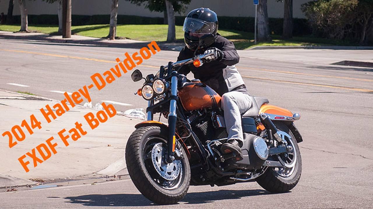 2014 Harley-Davidson FXDF Fat Bob Review