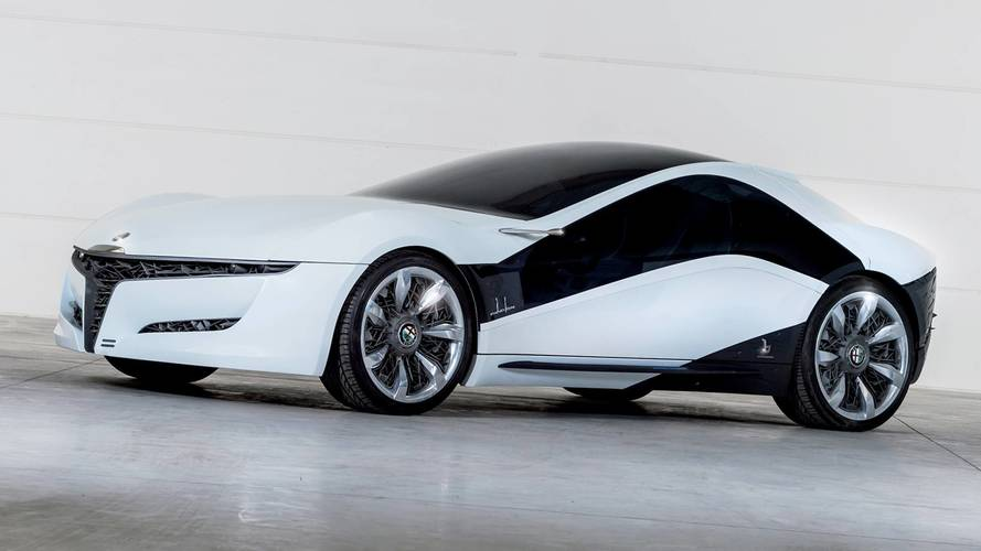 Bertone Pandion, all'asta il concept su base Alfa Romeo 8C