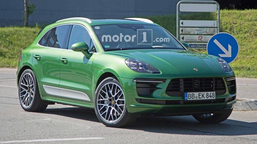 2019 Porsche Macan Facelift Getting More Power Across The Range