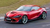 2021 Toyota 86 renderelés