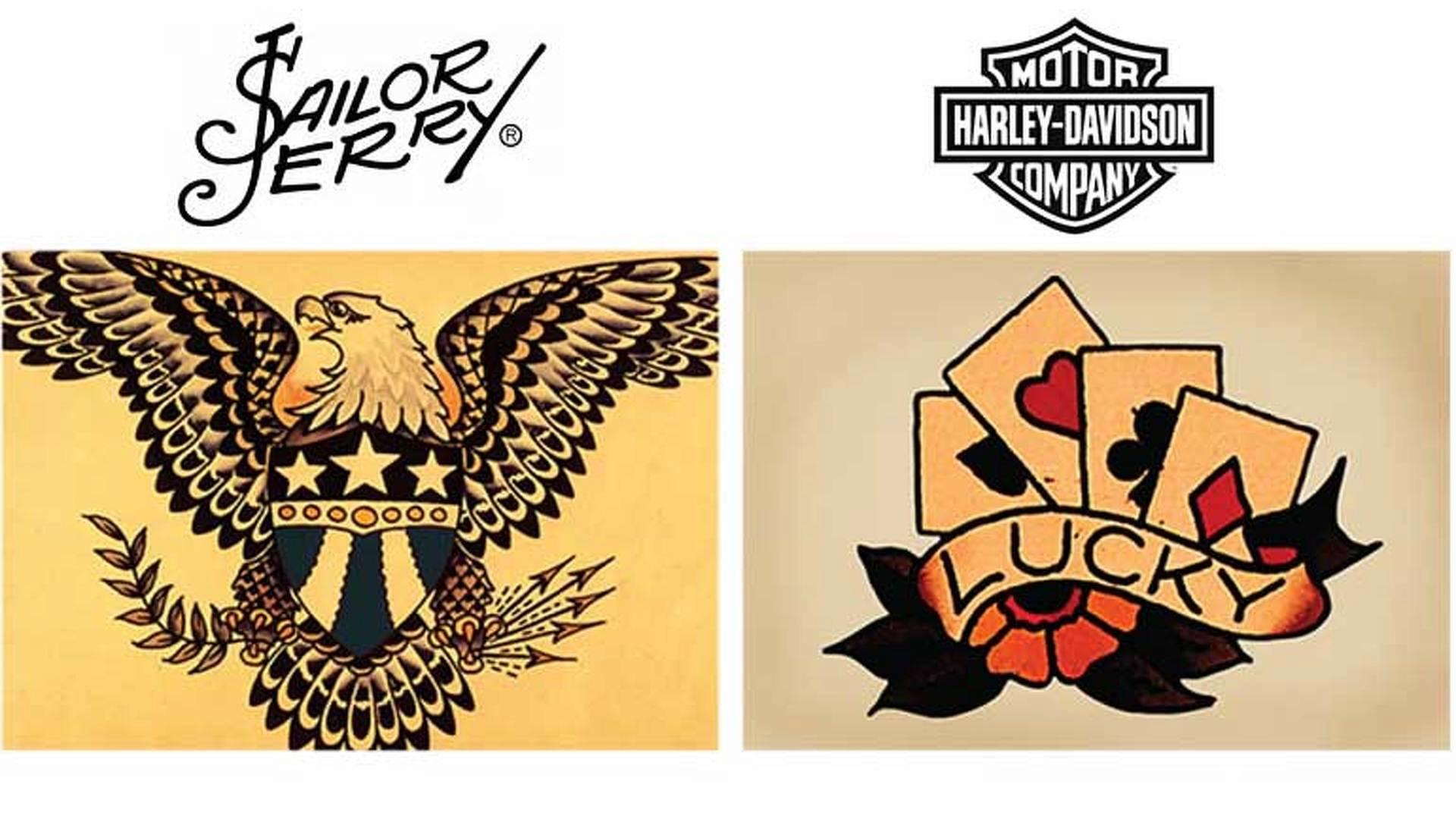 Sailor Jerry Teams With Harley Davidson