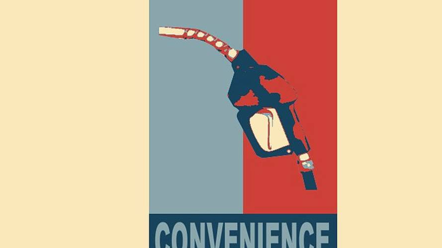 Yes we can! No more rubber boots on gas pumps