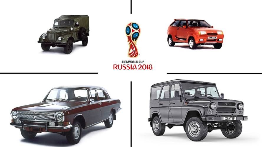 Soviet Cars Were Weird: Celebrating The 2018 World Cup In Russia