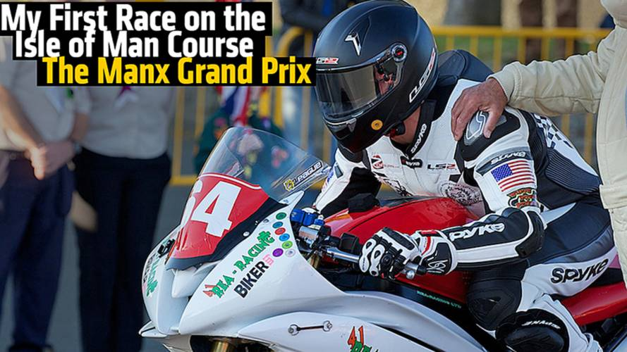 My First Race on the Isle of Man Course - The Manx Grand Prix