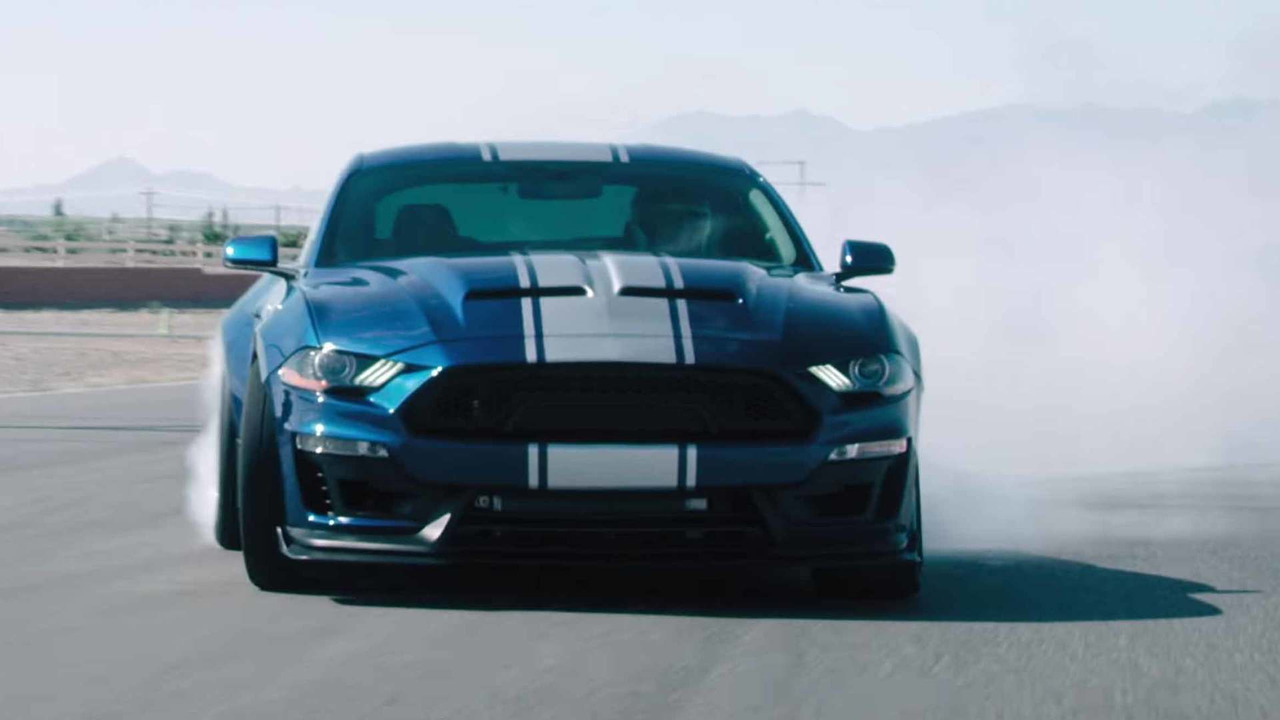 Updated 800 Hp Shelby Super Snake Hits The Track In New Promo