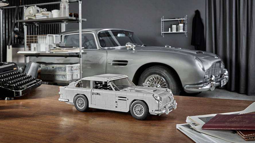 Lego présente l'Aston Martin DB5 de James Bond