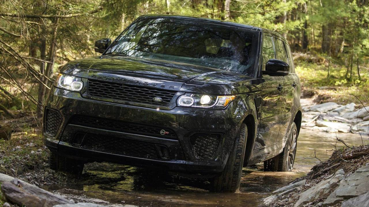 Range Rover Sport SVR 2014