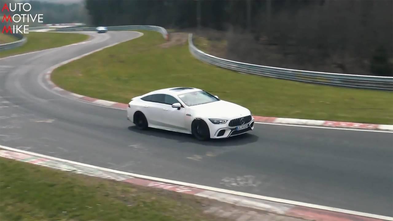 Mercedes-AMG GT 63 4-Door Coupe Testing