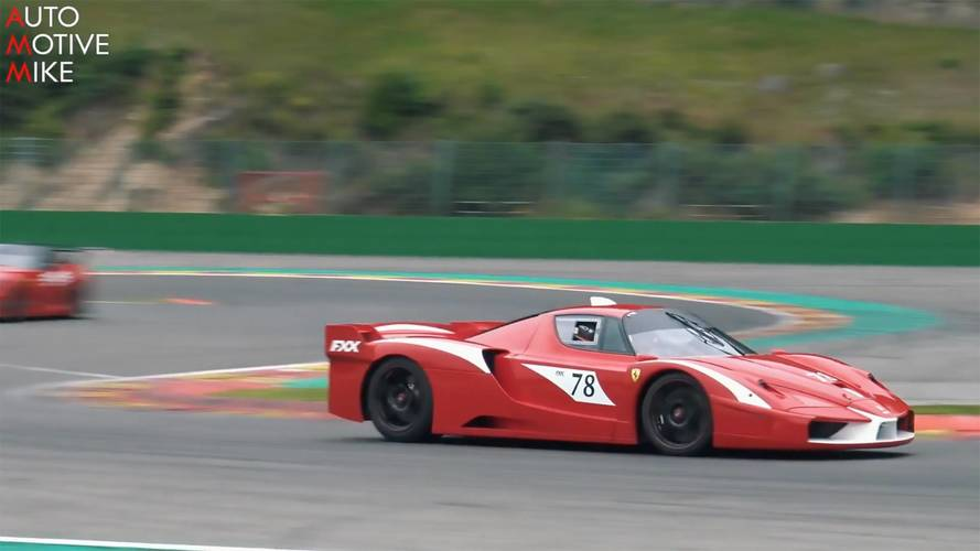Ferrari FXX Sounds Amazing Throughout Its Entire RPM Range