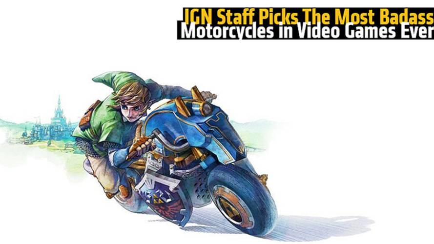 IGN Picks the Top Badass Motorcycles in Video Games