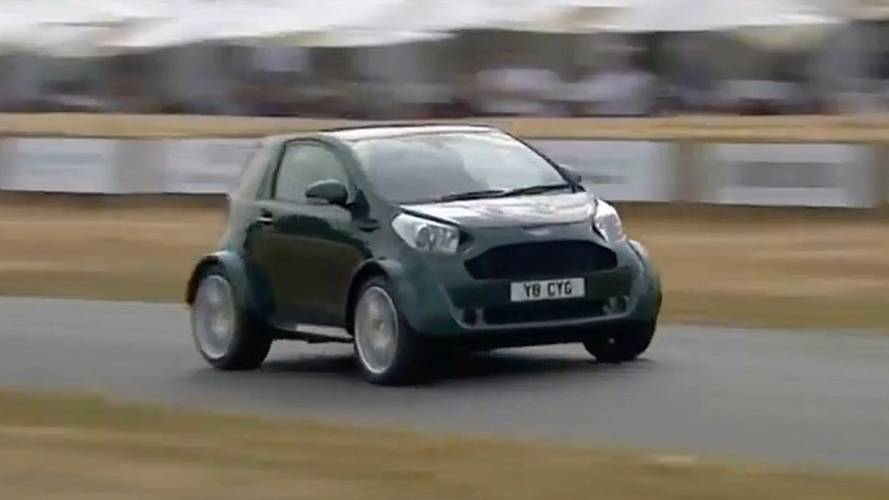 Watch The Adorably Angry V8-Powered Cygnet Take On Goodwood