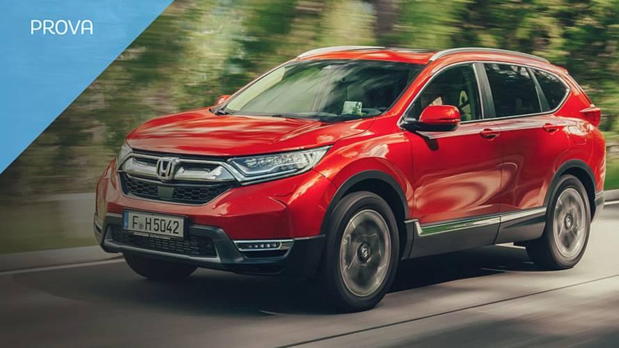 Nuova Honda CR-V, come va con il 1.5 benzina