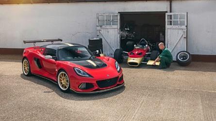 Lotus Exige посвятили машинам Формулы 1