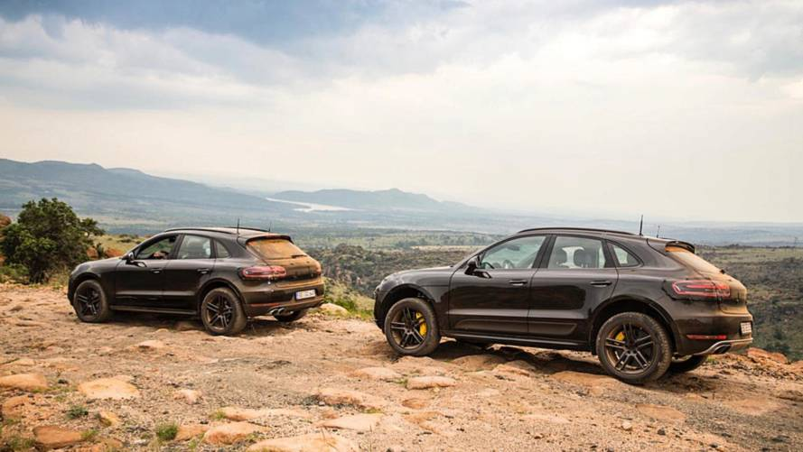 2019 Porsche Macan gets dirty for latest teaser