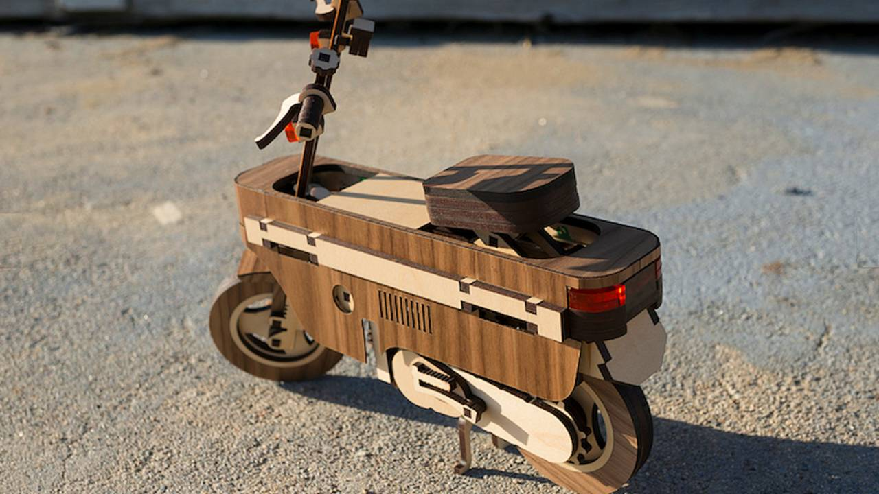 The Lasercompo takes the original Honda's quirkiness to a new level