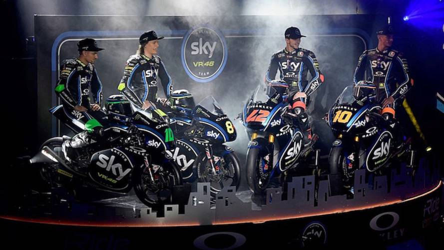 Dainese and AGV Partner with Sky Racing Team VR46 for 2018