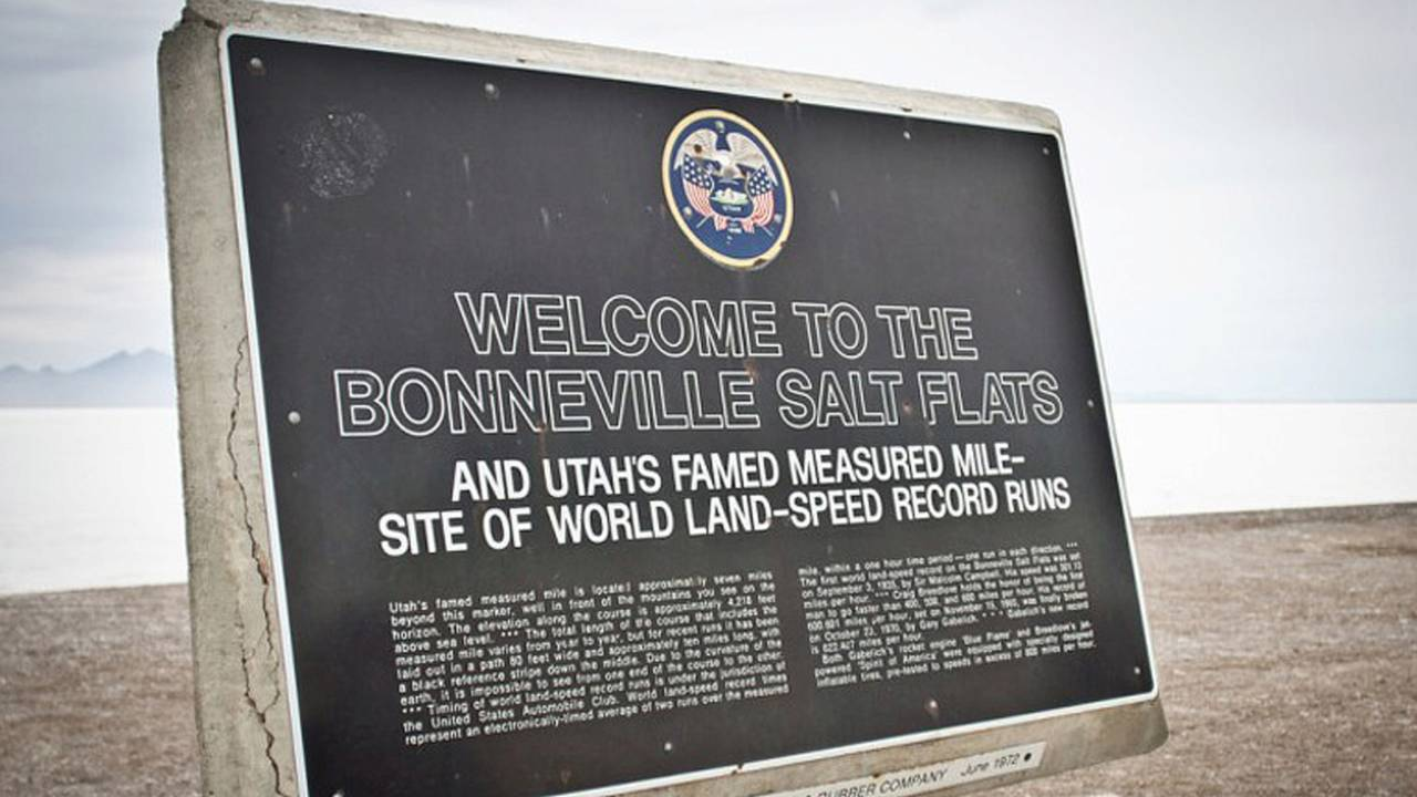 The Fate of Speed Week and the Bonneville Salt Flats are in Danger of Being No More