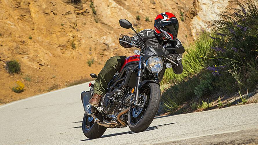 2017 Suzuki SV650A - First Ride Video Review
