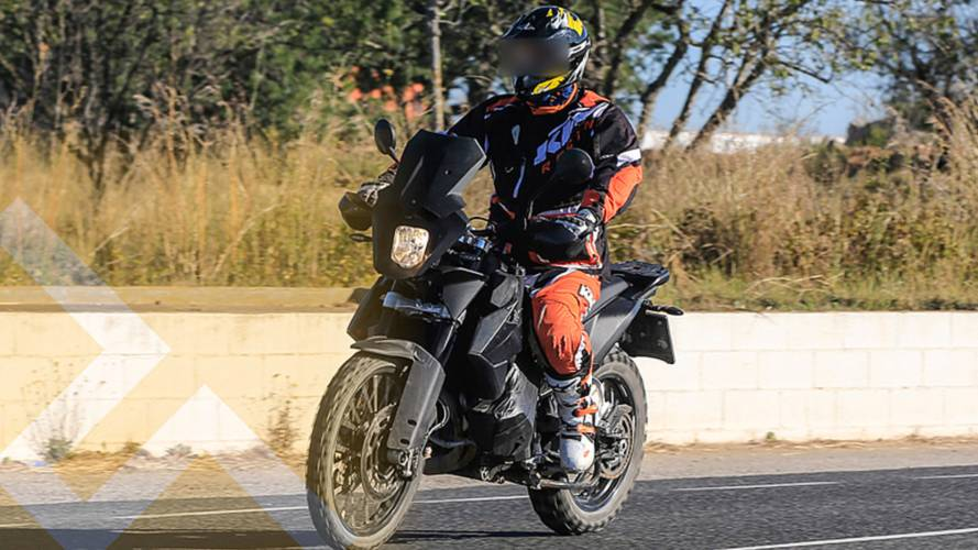 Spy Photos Show KTM 790 Adventure