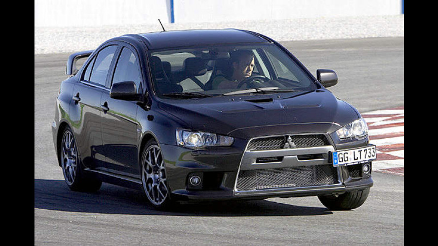 Eine (R)Evolution? Der Mitsubishi Lancer Evolution im Test