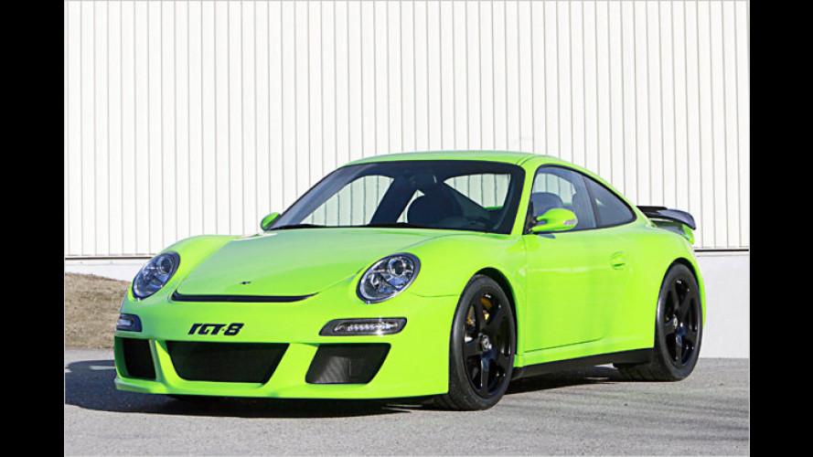 Starker Ruf RGT-8: Acht Zylinder für den Elfer-Porsche