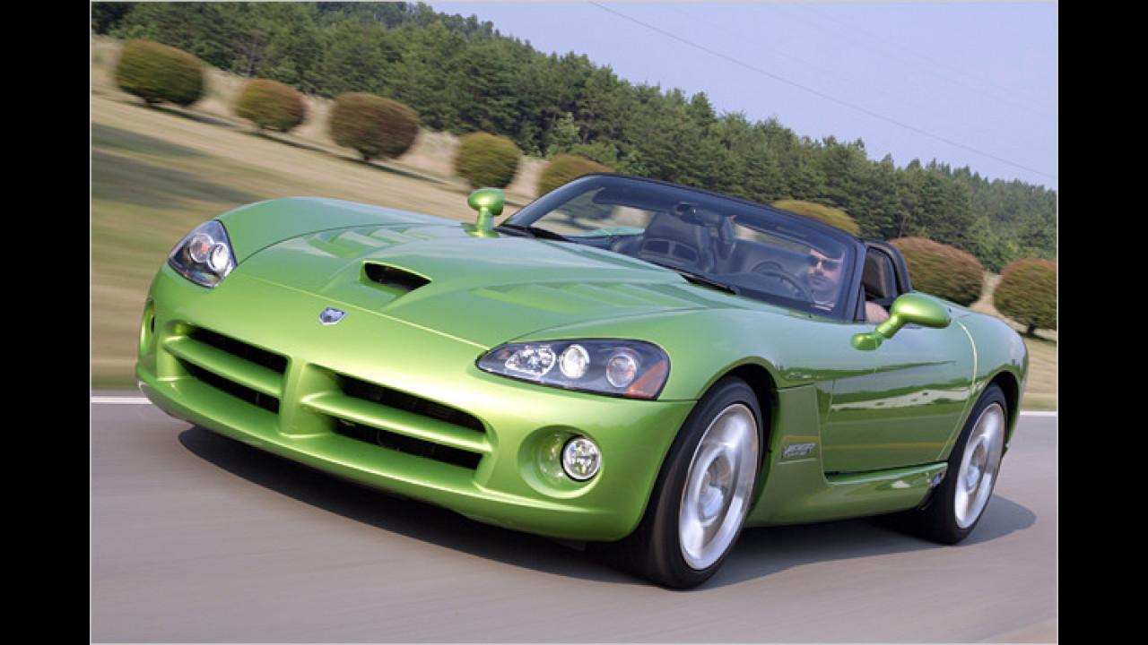 10. Platz: Dodge Viper SRT-10