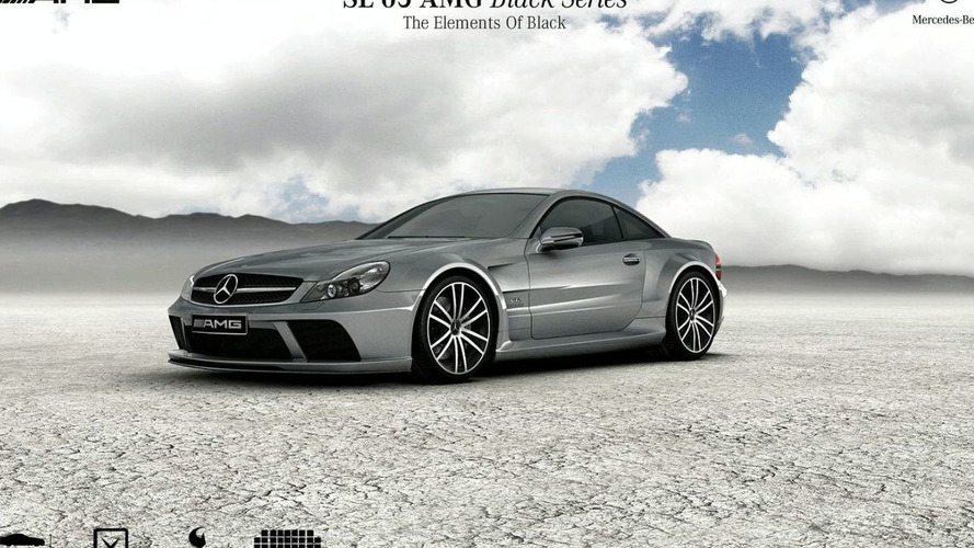 Mercedes SL 65 AMG Black Series Microsite Goes Live