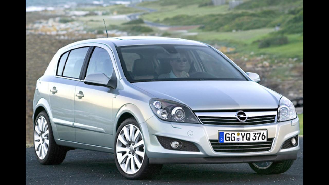 Platz 5: Opel Astra (3,8 Prozent)