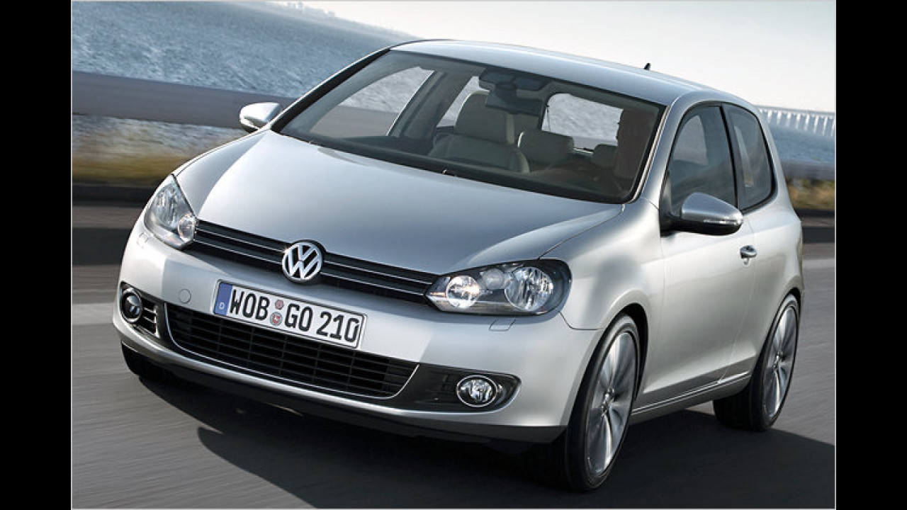 Alternative: VW Golf 1.6 TDI Trendline 3-türig