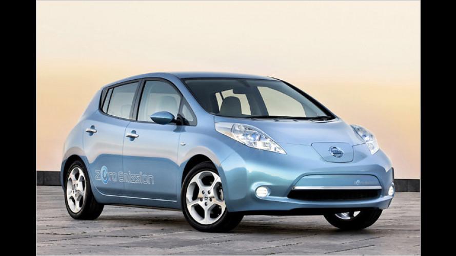Sauber gefördert: Nissan gibt erste Leaf-Preise bekannt