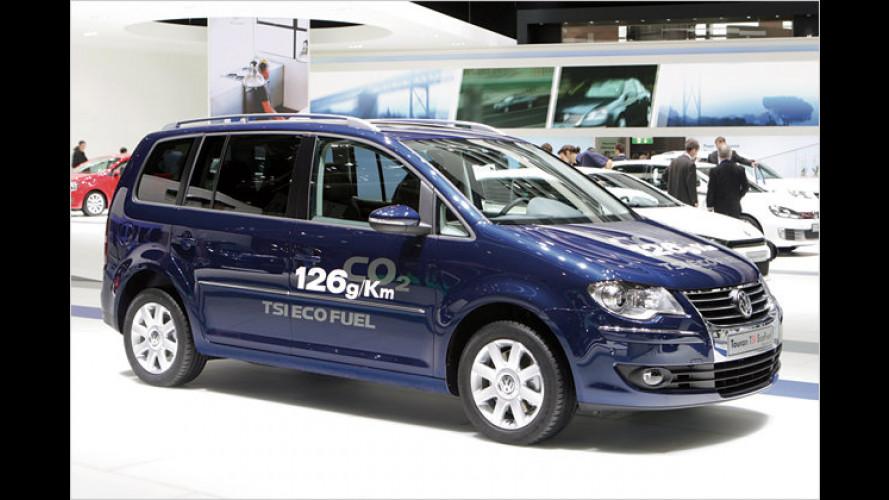 VW bietet jetzt auch den Touran als TSI EcoFuel an