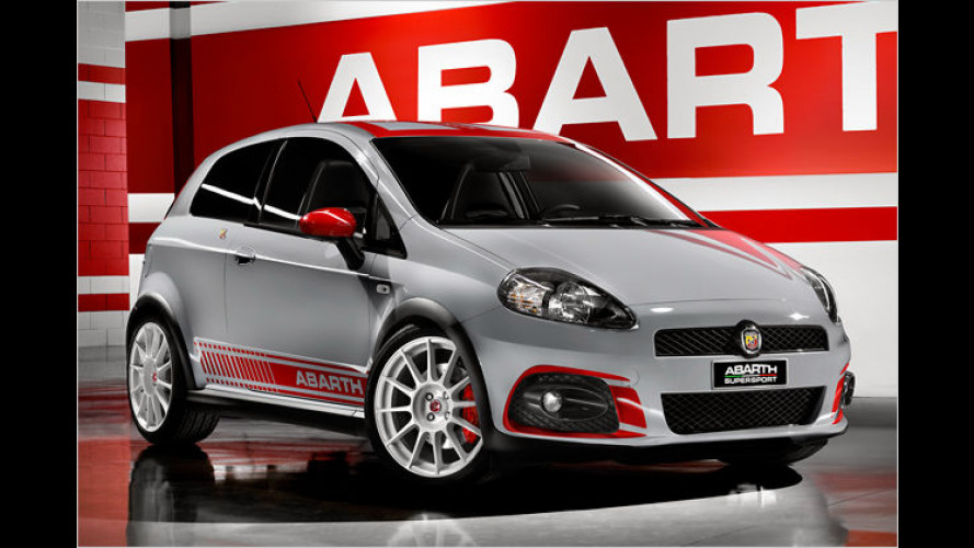 Abarth Grande Punto SuperSport mit Spezialsound