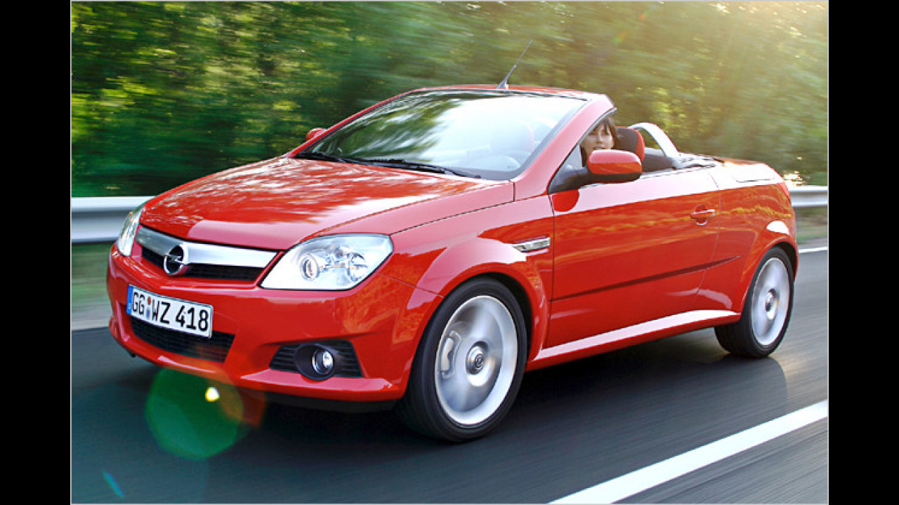 Opel Tigra TwinTop 1.4 Twinport Easytronic