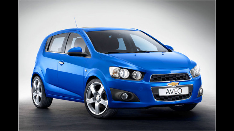 Aggressiver: Chevrolet stellt neuen Aveo vor