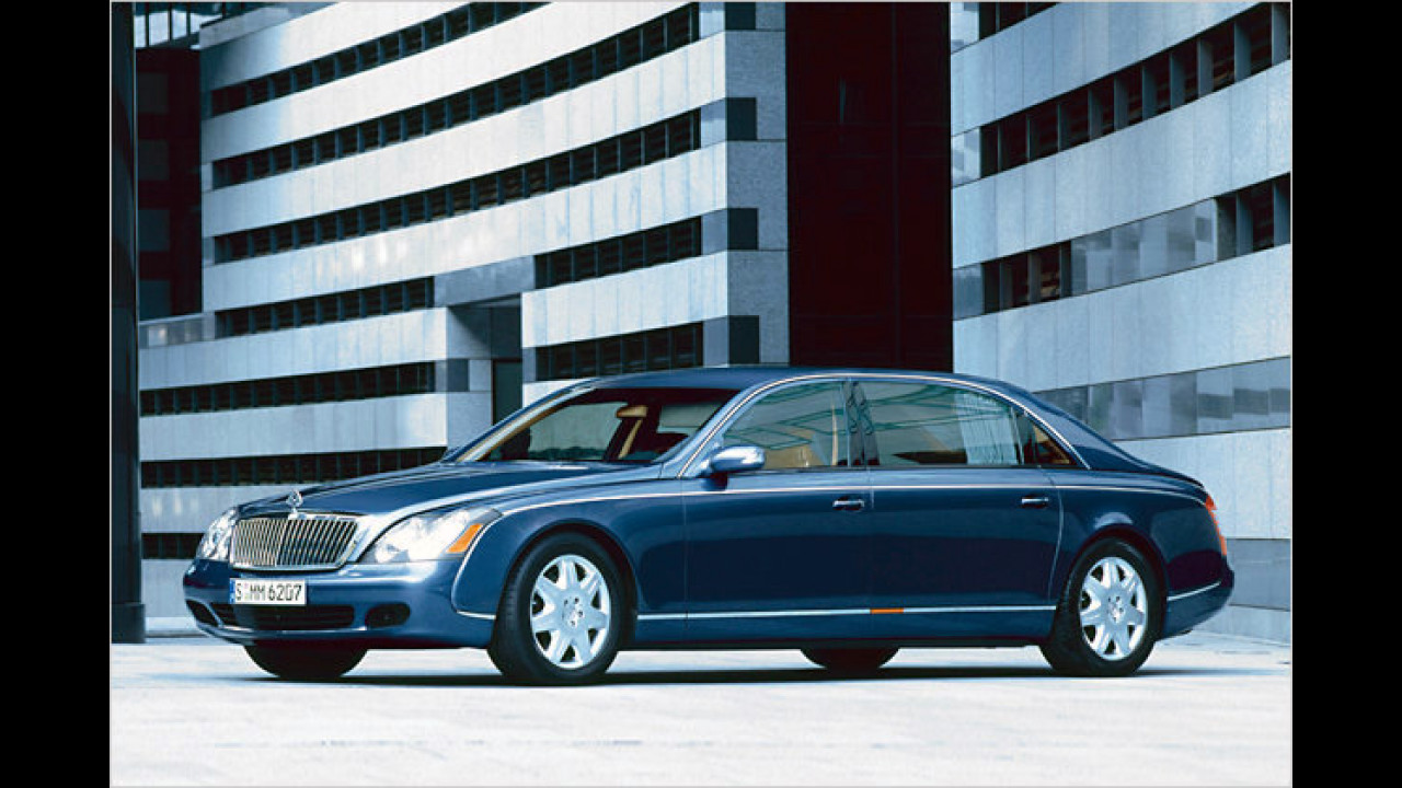 Maybach 62 Guard