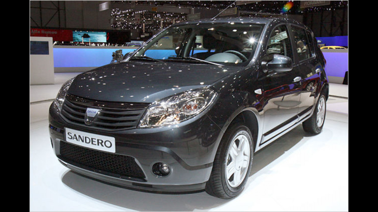 Der Dacia Sandero ist die Schrägheckvariante des Schwestermodell Logan