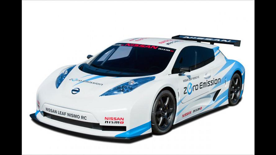 Nissan Leaf Nismo RC: Der Elektro-Öko-Renner