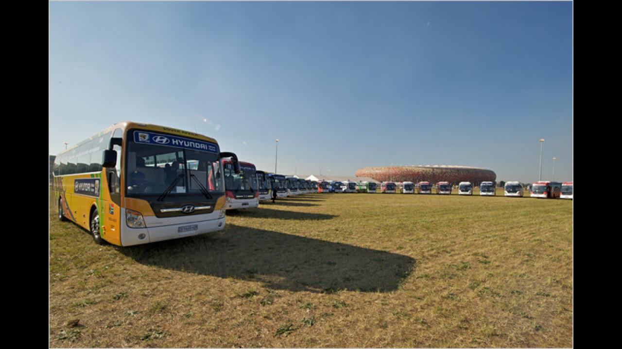 Fahrzeug-Übergabe in Johannesburg