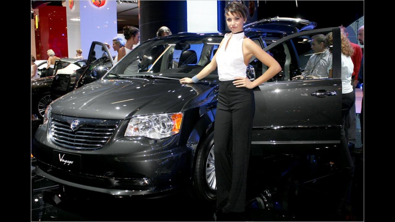 Unter neuer Flagge: Der Lancia Voyager war früher mal ein Chrysler