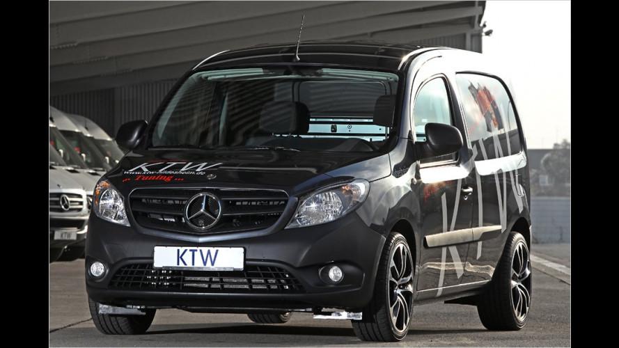 KTW motzt den Mercedes Citan auf (2012)
