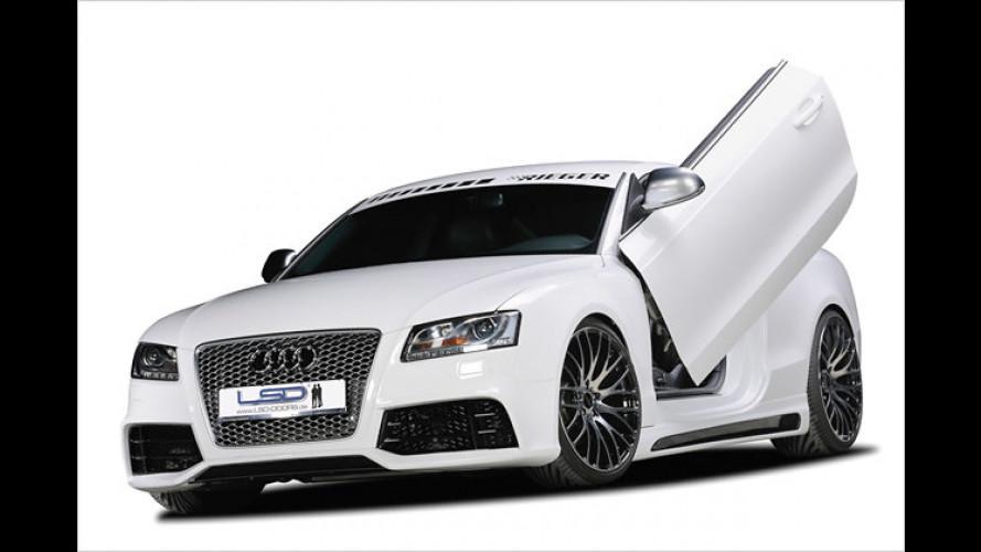 Im Lambo-Stil: LSD dreht an den Türen von Audi A5 und S5