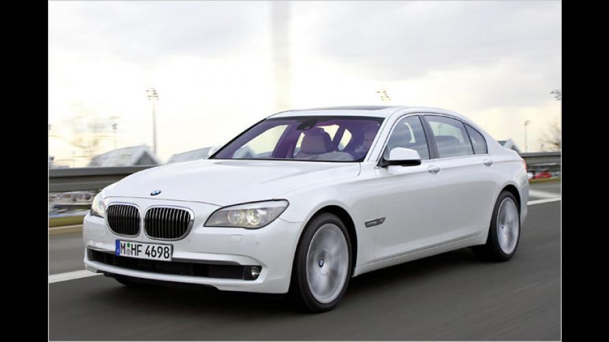 BMW 760i: Mit neuem Zwölfzylinder und Achtgang-Automatik