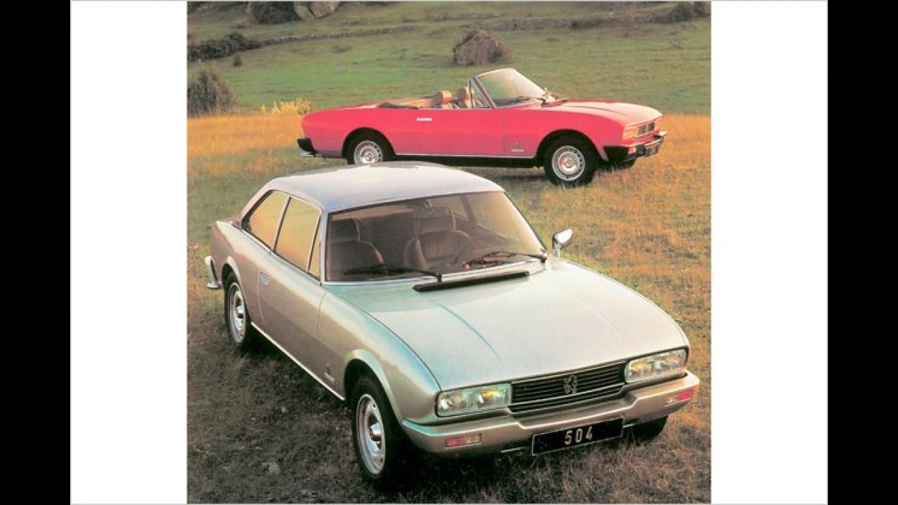 Platz 29: Peugeot 504 (3,8 Prozent)