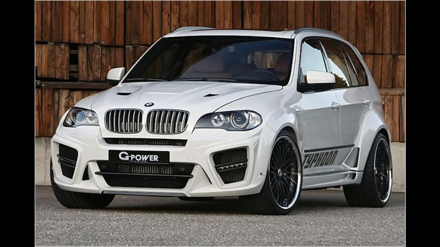 Das stärkste BMW-SUV der Welt: G-Power X5 Typhoon RS
